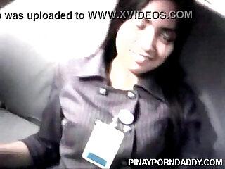 Beautiful  lady Bank teller scandal