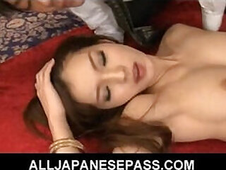 Perfect Mei has her fine ass licked and her pussy banged