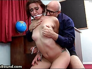 Teen Caught, Fucked, Made to Cum