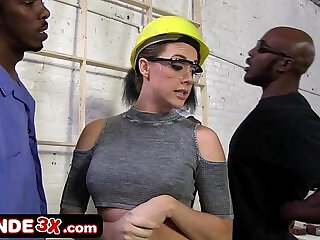 Big Tit Chanel Preston Forced Into Rough Interracial Gangbang