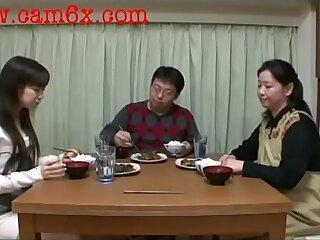 Japanese gets Spanked N get cock