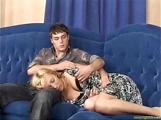 Sleeping Bitch Pussy Drilled