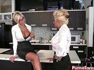 Puma Swede Bobbi Eden are the Lesbian Slut!